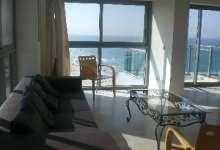 Salon with panoramic sea view