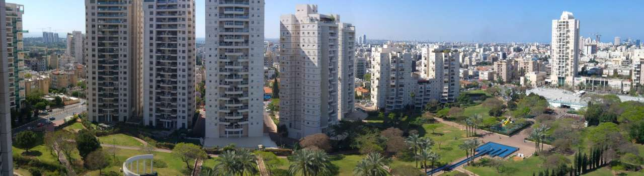 Short term upscale rental in marom naveh, ramat gan, tel aviv area
